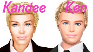 Ken (Barbie) Doll MakeUp Transformation