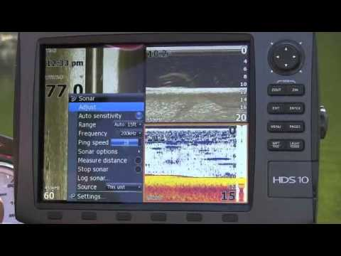 Tips On Lowrance Hds 2d Sonar And Structure Scan Settings