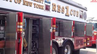 FDNY Rescue 1 - Inside Look at Rig and Equipment