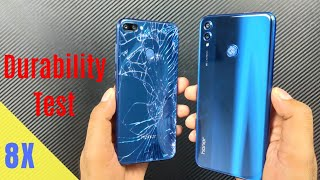 [हिंदी] Huawei Honor 8x Durability (SCRATCH, WATER, BEND, DROP) Test ! 15 Layer Glass ?