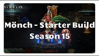 Diablo 3: Mönch Starter Build für Season 15