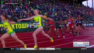 SENSATIONAL! Women's 4x400 - 2018 NCAA Outdoor Championships