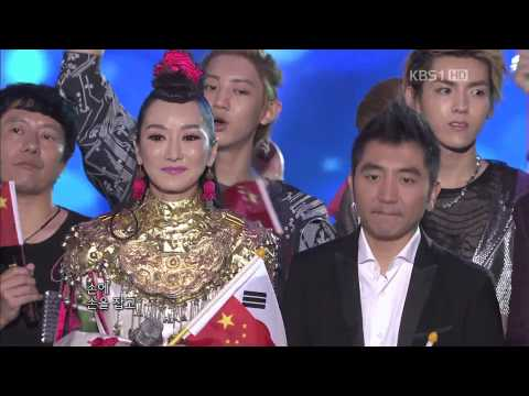 120902 14th Korea-China Music Festival All Artists  Ending [SNSD EXO]