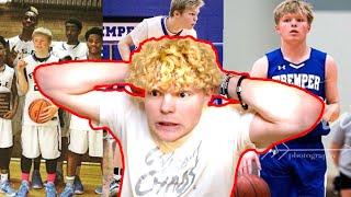 Reacting To My High school Basketball Highlights!