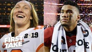 Trevor Lawrence vs. Tua Tagovailoa: Who's the better quarterback? | First Take