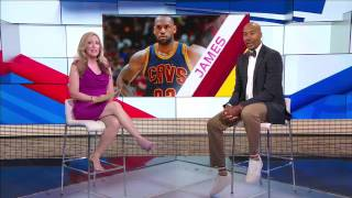 Did LeBron's continued success take him out of MVP race? - SportsCenter (05-20-2017)
