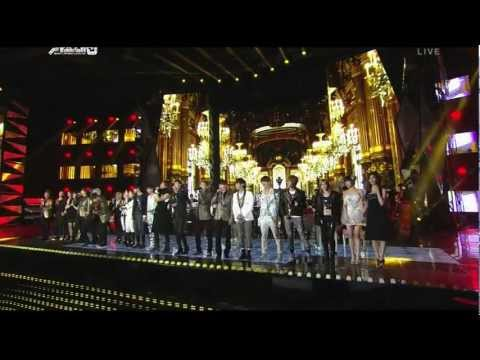 111229 SBS歌謠大戰 SMTOWN Orchestra