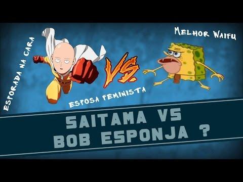 SAITAMA VS BOB ESPONJA   QSN #29
