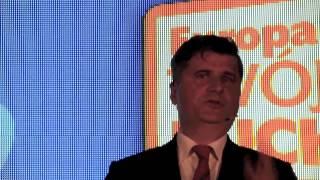 Janusz Palikot na konwencji Europa Plus Twój Ruch