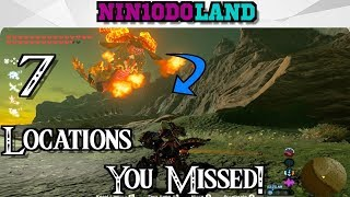 7 Cool Locations You *MISSED* In Breath of the Wild!!! [Part 3] (Fan Favorites)