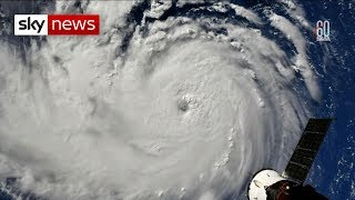 Locals prepare for 'monster' Hurricane Florence
