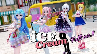【MMD】🍦😋 BLACKPINK - Ice Cream (with Selena Gomez) Full ver.【Vocaloids Dance Cover】[4K]