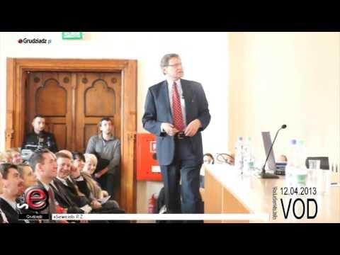 Wykład Leszka Balcerowicza na UMK w Grudziądzu