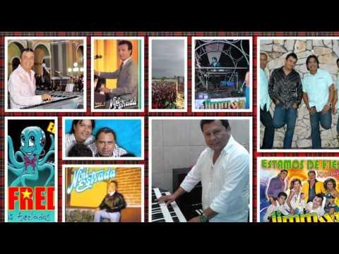 TECLADISTAS GRAN AGASAJO TROPICAL (ALFREDO,HUGO,NELSON,JIMMY)  Rogmeld 2012 Vive la Música !!