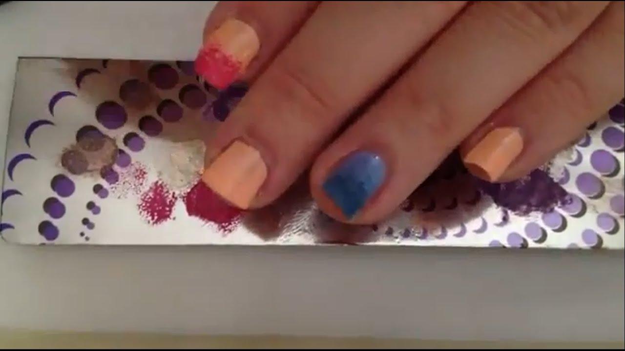 farbverlauf mit nagellack machen ombre nails anleitung youtube. Black Bedroom Furniture Sets. Home Design Ideas