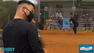 Nick Swisher gets diced up by Blitzball pitcher, a breakdown