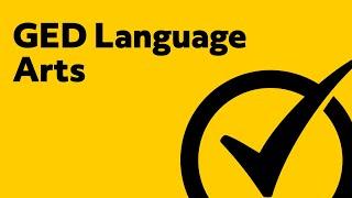 GED Language Arts [2019] Study Guide