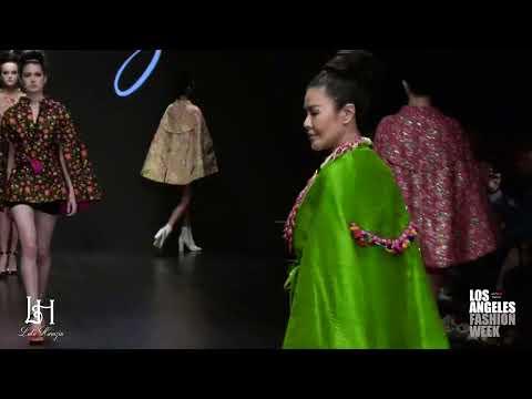Lulu Harazin at Los Angeles Fashion Week powered by Art Hearts Fashion