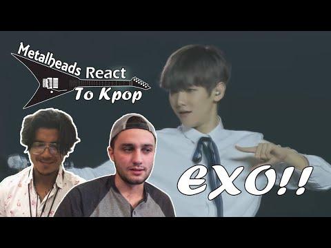 Metalheads React to Kpop | EXO LIVE 'Tender Love' & 'Promise'