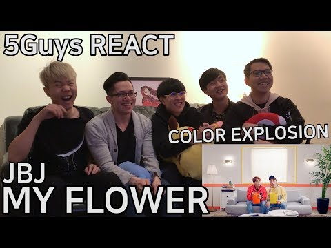 [PAINT ME] JBJ - My Flower (꽃이야) 5Guys MV REACT
