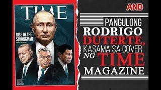 Pangulong Rodrigo Duterte, kasama sa cover ng Time Magazine