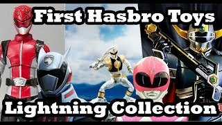 First Hasbro Power Rangers Toys Revealed  | First Lightning Collection Wave