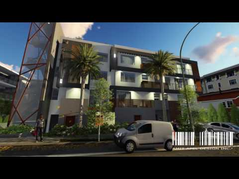 Project San Vincente by Amit Apel Design Inc. // 3D Rendering Design for Real Estate Development