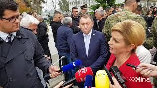 "Izjava Grabar-Kitarović na 28. obljetnici ustrojavanja 1. gardijske brigade ""Tigrovi"""