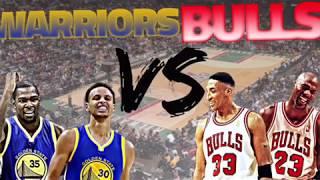 Steph Curry Vs. Michael Jordan: 2017 Warriors against the 96 Bulls
