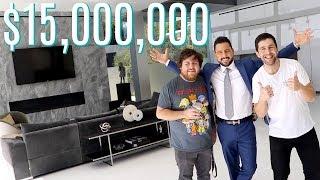 JOSH PECK TOURS INSANE 15,000,000 BEVERLY HILLS HOME!