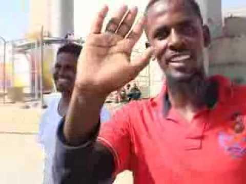 أثيوبيون يودعون المملكة