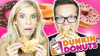 Trying Dunkin Donuts Breakfast