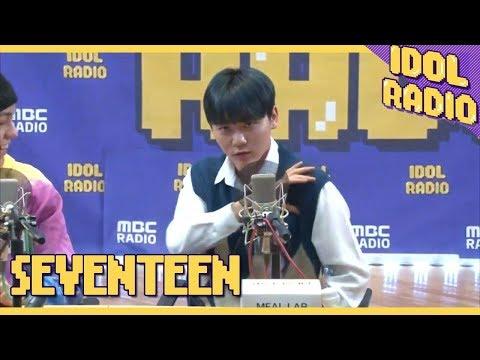 [IDOL RADIO]신곡 소개 중 보여주는 승관의 퍼포먼스 (feat.숨이 차)