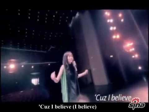 [ENG SUB] 张靓颖 Jane Zhang - 我相信 (I Believe) MV