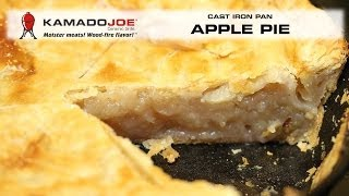Cast Iron Pan Apple Pie