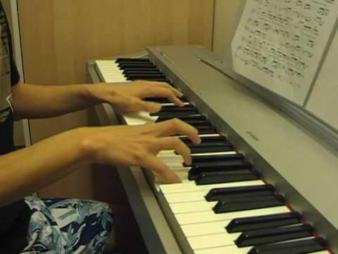 Kiss - Because I'm A Girl piano 韓國廣告 因為是女人鋼琴曲