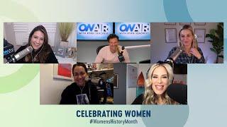 Ellen K. Joins Seacrest & the Team to Celebrate #InternationalWomensDay | On Air With Ryan Seacrest