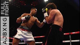 Full Fight | Anthony Joshua Vs Raphael Zumbano Love TKO