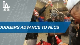 Dodgers beat the Braves to advance to the NLCS