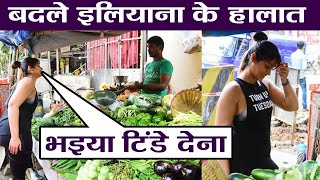 Viral Pics: Ileana spotted at vegetable market in Mumbai..