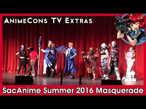AnimeCons TV Extras - SacAnime Summer 2016 Masquerade
