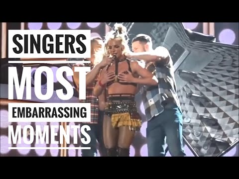 Singers Most Embarrassing Moments of all time CRINGE, Celebrities most embarrassing moments