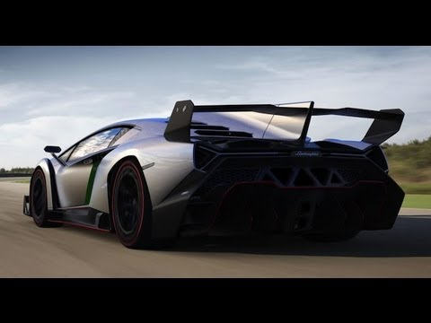 lamborghini veneno this is what world 39 s most expensive car looks like youtube. Black Bedroom Furniture Sets. Home Design Ideas
