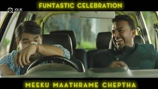 Meeku Maathrame Cheptha Movie Making Video