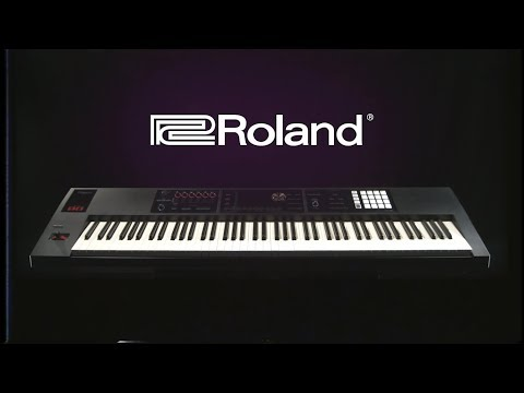 video Roland FA-08 88-key Music Workstation