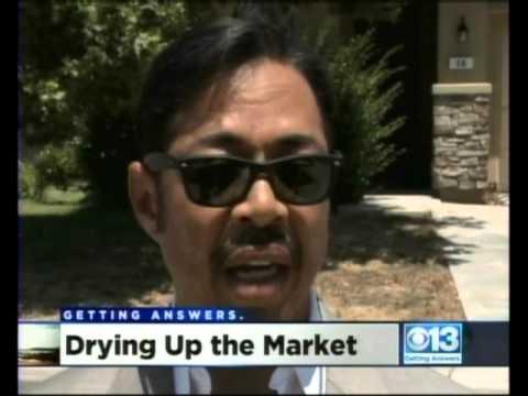 Drought & Landscaping KOVR CBS13 10pm Sac, CA 06 11 2014