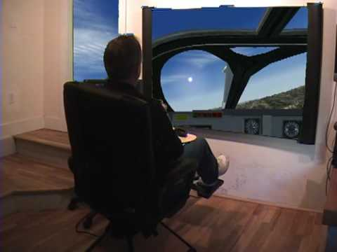 Fsx Home Flight Full Motion Simulator X Fsx Pilot Gaming