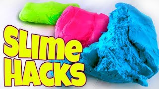 TESTING SLIME HACKS AND FIXES! HOW TO MAKE THE BEST SLIME!