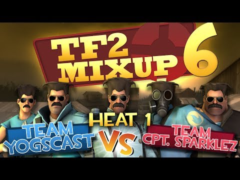 Yogscast Vs CaptainSparklez - TF2 Charity Mixup Match Round 1 - Smashpipe Games