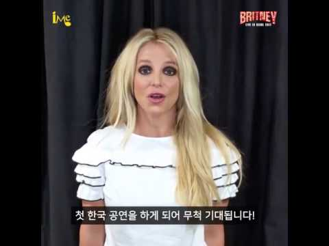 Britney Spears LIVE in Korea! Legendary Chanteuse speaks fluent Korean